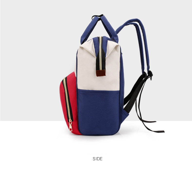 HTB1lbG8Xv1G3KVjSZFkq6yK4XXaK Multi-Function Mummy Maternity Nappy Bag Fashion Patchwork Large Capacity Baby Bag Travel Backpack Nursing Bag for Mom Designer