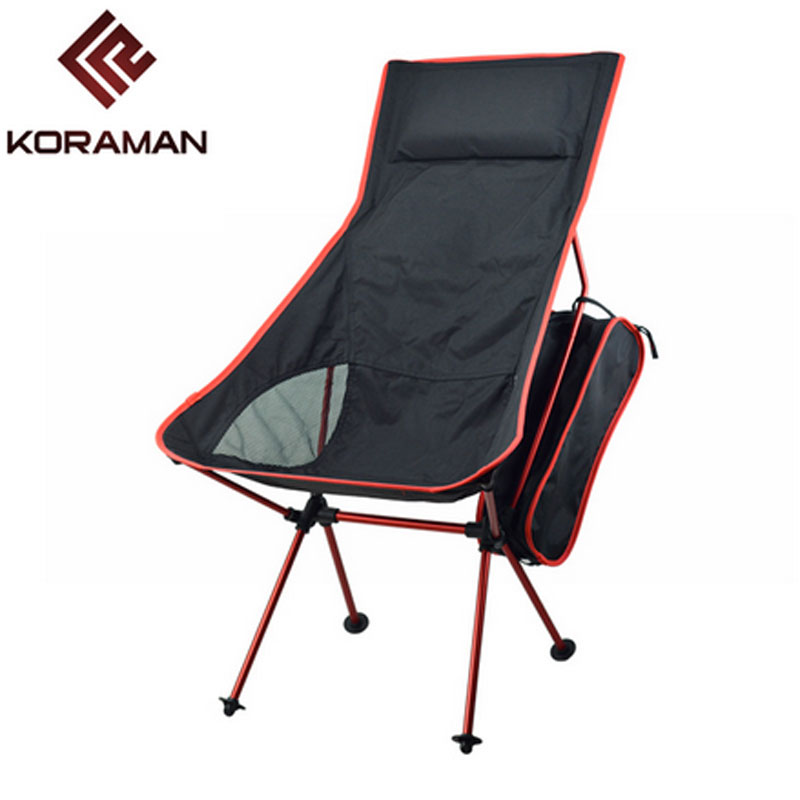 Outdoor upgrade section large backrest folding chair Fishing Chair Seat for Outdoor Camping Leisure Picnic new arrival high quality folding fold aluminum chair outdoor stool seat for fishing for camping