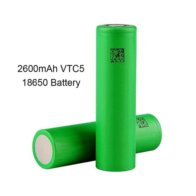 Znalezione obrazy dla zapytania Akumulator 18650 SONY VTC5 3,7V 2600mAh