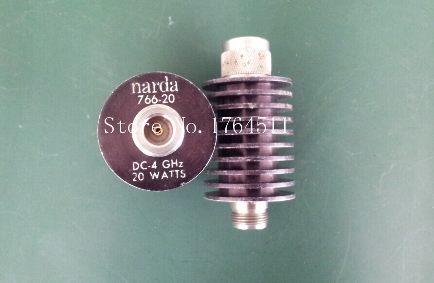 [BELLA] Narda 766-20 DC-4GHZ 20dB 20W N Coaxial Fixed Attenuator