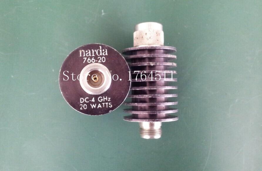 [BELLA] Narda 766-20 DC-4GHZ 20dB 20W N Coaxial Fixed Attenuator