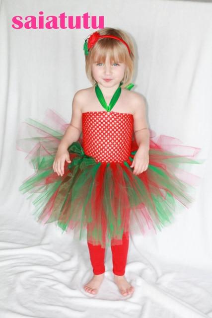 Rot grün tüll baby blumenmädchen hochzeit kleid flauschige ...