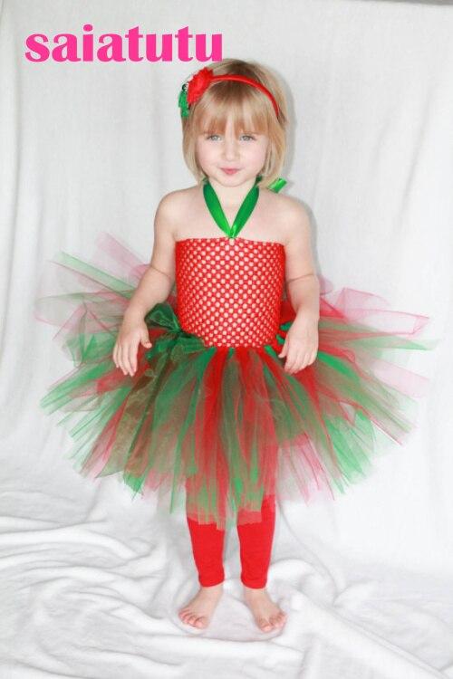 Rainbow Tulle Flower Girl