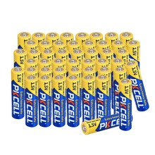 48Pcs 1.5V AAA Zinc Carbon Dry Batteries 3A Extra Heavy Duty Blue Color Prime and Battery