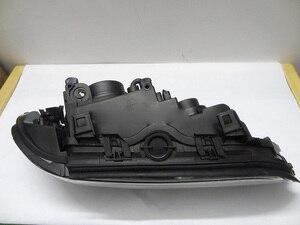 Image 3 - 2 pcs przedni reflektor samochodowy dla E39 reflektorów 1996 ~ 2003 rok, 520 528 530 XENON HID reflektorów H7 Xenon obiektyw dwukrotnie U kąt oczy