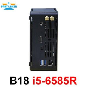 Причастником Мини ПК Windows10 Linux настольный компьютер с процессором Intel Core i5-6585R четырехъядерный 2,8 ГГц HDMI Мини DP