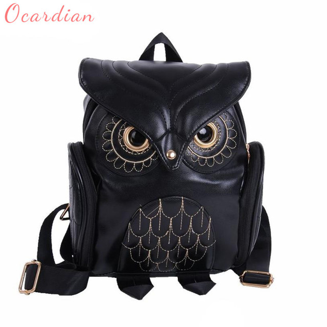 Fashion Owl Large Backpack
