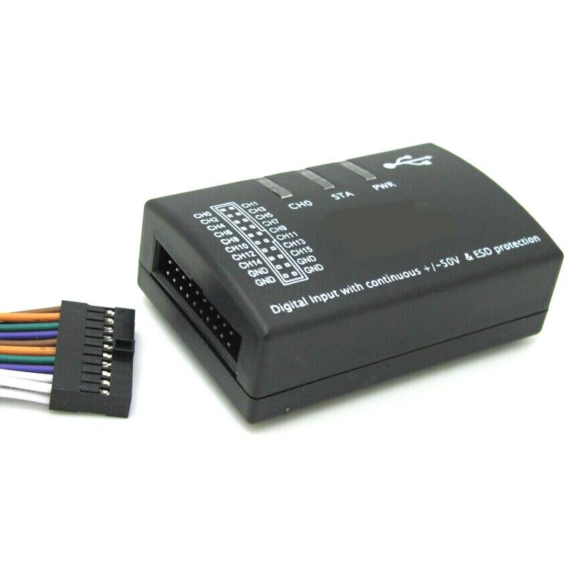 Saleae USB logique 100 MHz 16Ch analyseur logique pour bras FPGA E4-004 - 5