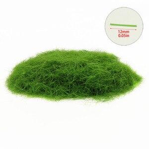 Image 3 - 4 병 35g 12mm 정적 잔디 분말 혼합 된 색상 잔디 매트에 대 한 녹색 잔디 분말 무리 모델 철도 레이아웃 cfa4