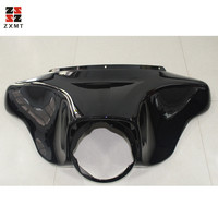 ZXMT Glossy ABS plastic Front Batwing Outer Fairing fit for Harley Touring Modles 1996 2013