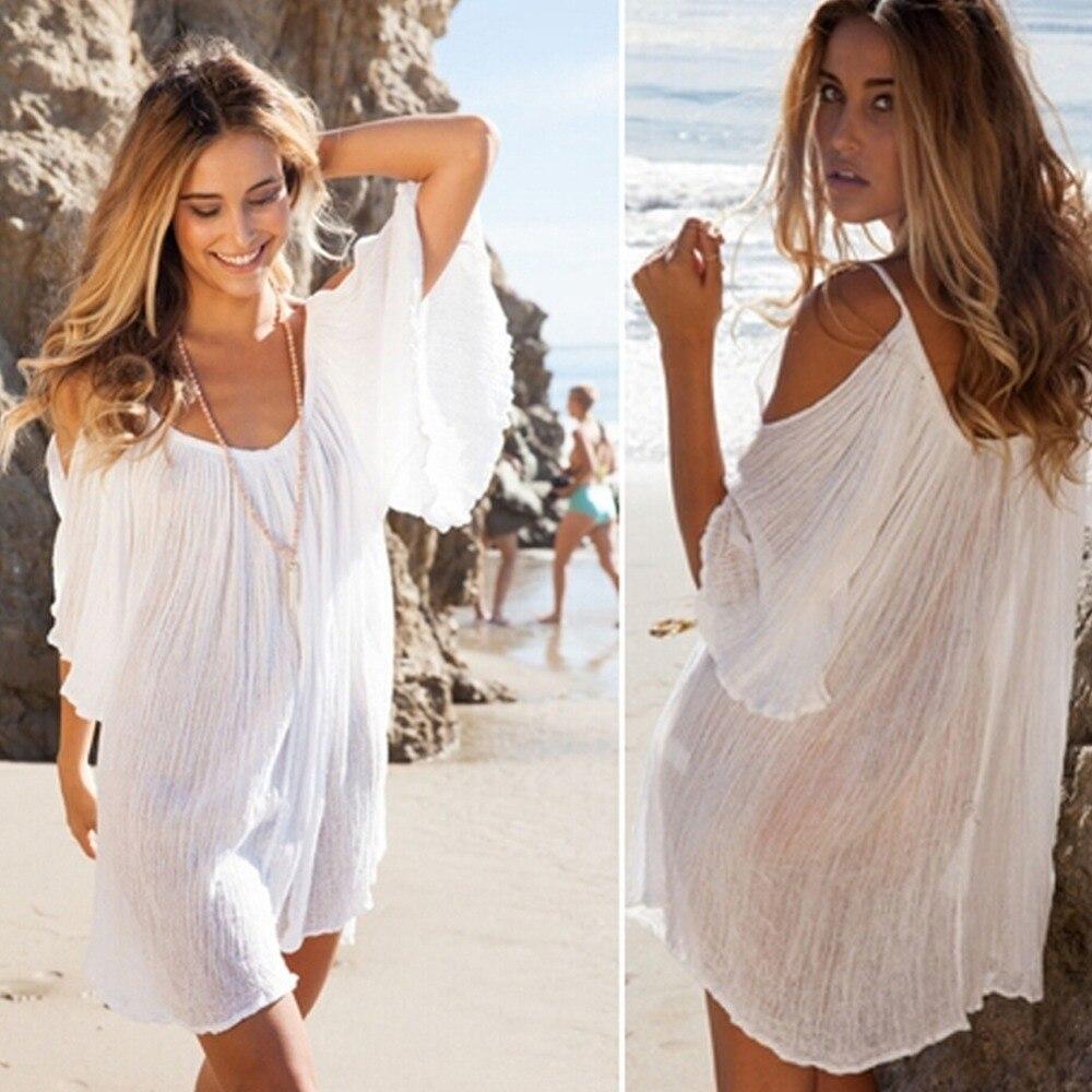2017 ucrania mujeres summer cotton dress moda de nueva marca sexy o-cuello de la