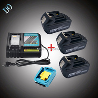3PCS 18V BL1840 4000mAh Rechargeable Li Ion Replacement For Makita 18V BL1830 LXT With Power Tool
