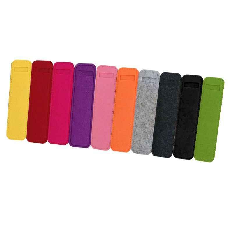Ручка Пенал для карандашей держатель защитный чехол войлочные сумки для хранения подарок стационарный