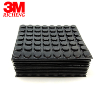 3M Bumpon SJ5012 Black 3m Adhesive Rubber Pad, Cylindrical Flat Top Provides Excellent Load Bearing And Anti Skid Performance