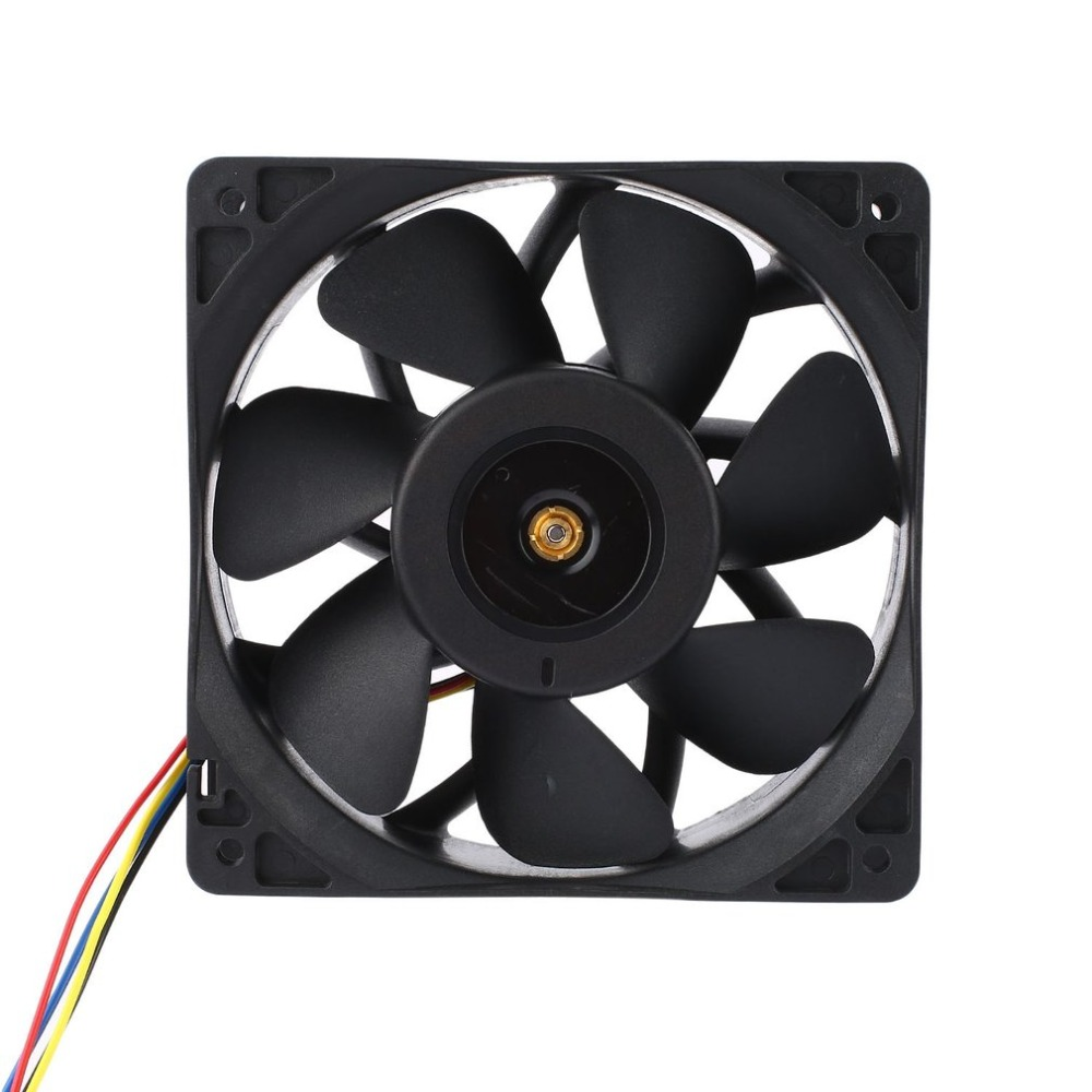 6000RPM DC12V 2.7A Miner Cooling Fan 4-Pin Connector Brushless Replacement Cooler For <font><b>Antminer</b></font> <font><b>Bitmain</b></font> <font><b>S7</b></font> S9 Easy Installation image