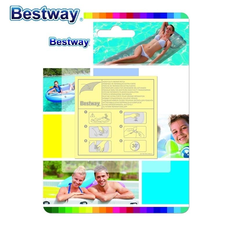 Lots Inflatable Swimming Pool Puncture Repair Patch for Bestway Intex Heavy Duty