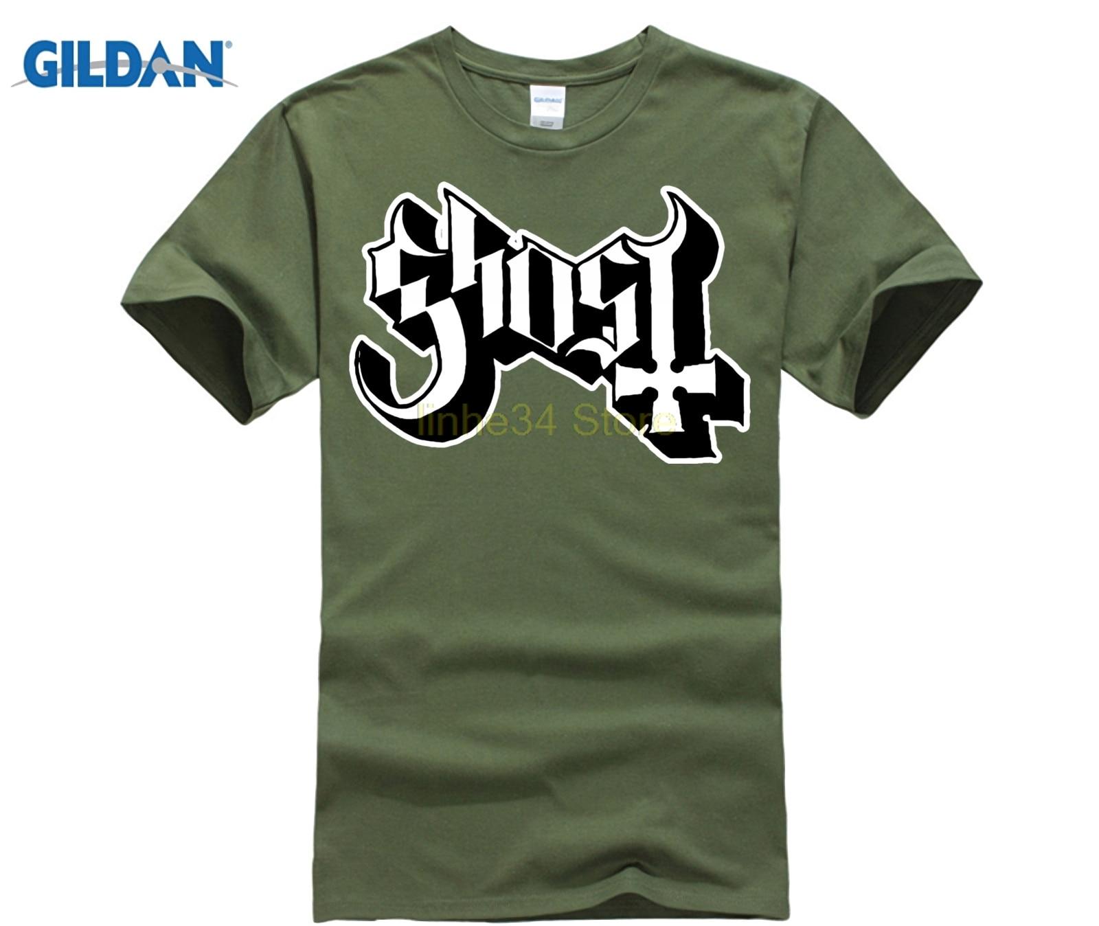 Cotton T Shirt Fashion T Shirt Ghost Bc Print Round Neck Man Custom