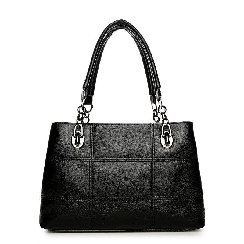 Luxury Women's Leather Handbags Women Bags Designer Shoulder Tote Bag Female Ladies Big Bags for Women 2017 Large Handbag bolsas