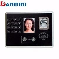 Danmini A602 4 в 1 лица отпечатков пальцев ID card пароль рабочего времени 2,8 дюймов TFT Машина идентификации проверки Регистраторы