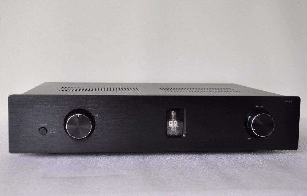 Mistral MM 6 80Wx2 Гибридный Интегрированный усилитель мощности с Pre Out & USB ЦАП