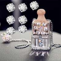 1440Pcs Shiny Sparkle Kristall Klar Strass Nähen Kleidung Kleid DIY Handwerk Handtasche Nähen Strass Dekoration Zubehör 3mm/ 4mm