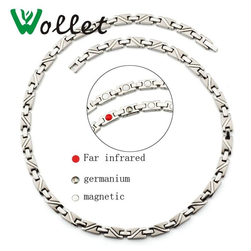 Volneni nakit Zdravstvena nega Energijska magnetna ogrlica Čisti - Modni nakit