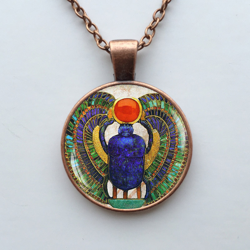 egyptian scarab necklace - photo #43