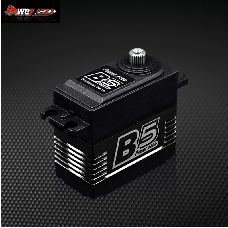 1pcs Original Power HD B5 20KG High Torgue Brushless Matel Gear Servo for RC Airplane 3DF3A
