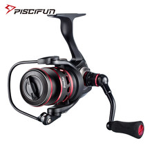 Piscifun Ehre angeln reel 10 + 1 BB 2000 3000 4000 5000 10KG Max Drag Versiegelt Carbon Drag licht Spin Spinning Reel(China)