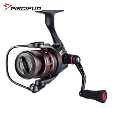 Piscifun Honor fishing reel 10+1 BB   2000 3000 4000 5000  10KG Max Drag  Sealed Carbon Fiber Drag   Light Spin  Spinning Reel