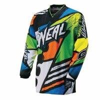 2018 для Oneal мотоцикл GP Горный велосипед Мотокросс Джерси XC BMX DH MTB футболка одежда низ рубашки мотоциклов футболка ra