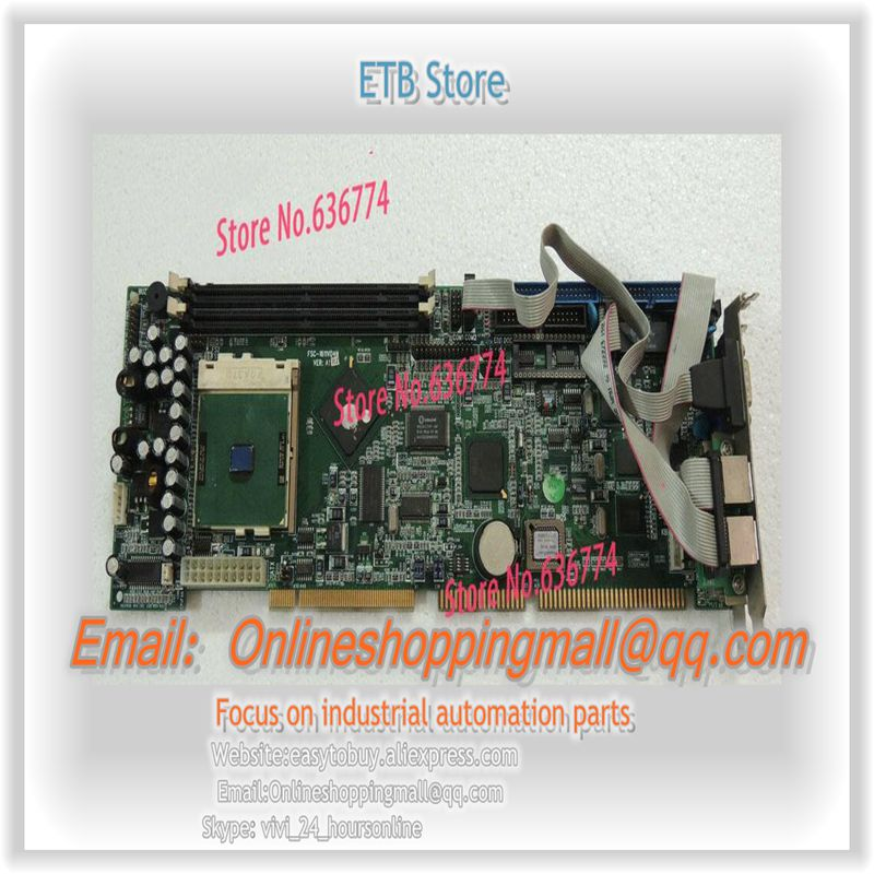 IPC board FSC-1611VD4N VER:A1 motherboard 4 network cards to send CPU