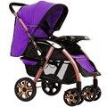 Widen Sede de alta Paisagem Carrinho de Bebê Dobrável Portátil À Prova de Choque de Carro Do Bebê Carrinhos e carrinhos para Recém-nascidos C01