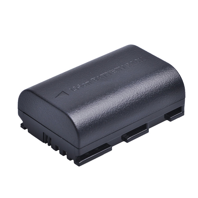 1Pcs 2650MaH LP-E6 LPE6 LP E6 Battery + Car AC Plug Charger for Canon DSLR EOS 5D Mark II Mark III 60D 60Da 7D 70D 6D Camera