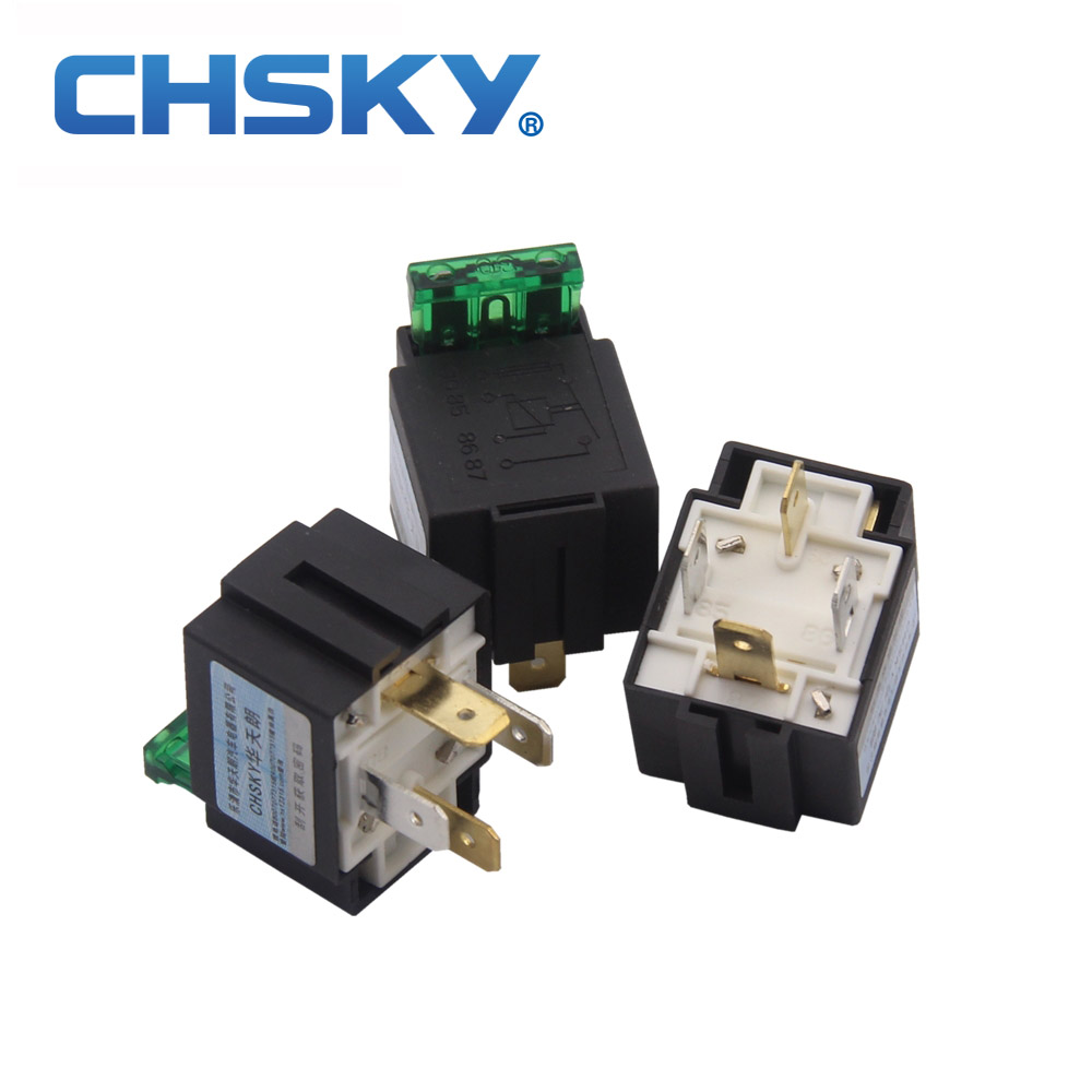 12v Automotive Fuse Wiring Diagram Electricity Basics 101 30 Amp Box Chsky 1 Piece Top Quality Car Relay 30a 4pins Rh Aliexpress Com Fuel Pump Timer