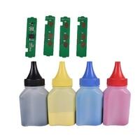 Refill toner Powder +4 pcs chip FOR Samsung CLT K404S cartridge CLP C480FW C480W 482 C482FW C482W 483 C483W C483FW