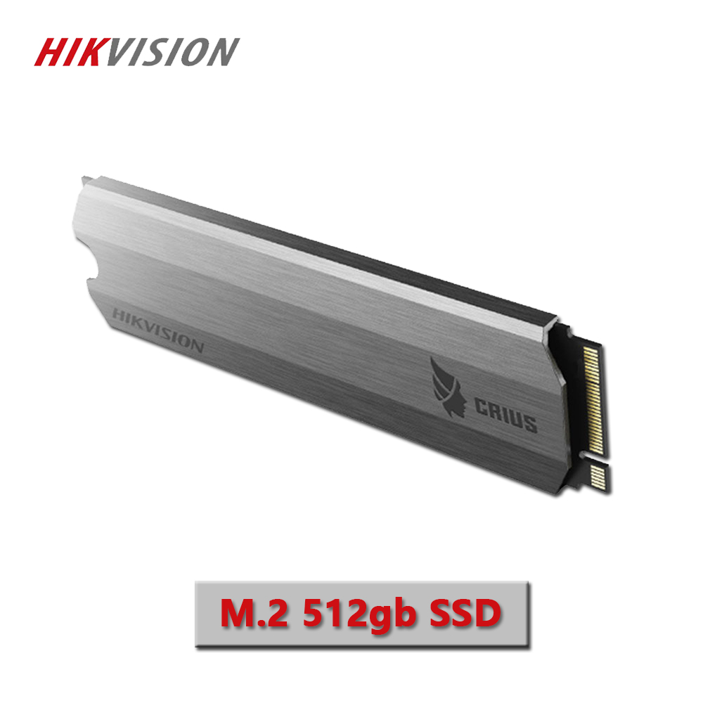HIKVISION SSD 512GB PCIe NVME hd ssd C2000 For Desktop Laptop PCIe Gen 3 x 4 M.2 NGFF 2280 Solid State Drive Cooling