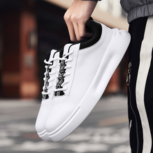 Trend  Casual Shoes Men Breathable Sneakers Pu Leather Flat Vulcanize Outdoor High Quality