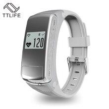 Лидер продаж TTLIFE модный бренд Bluetooth Музыка Спорт Смарт Часы Браслет Шагомер фитнес-монитор сердечного ритма хороший