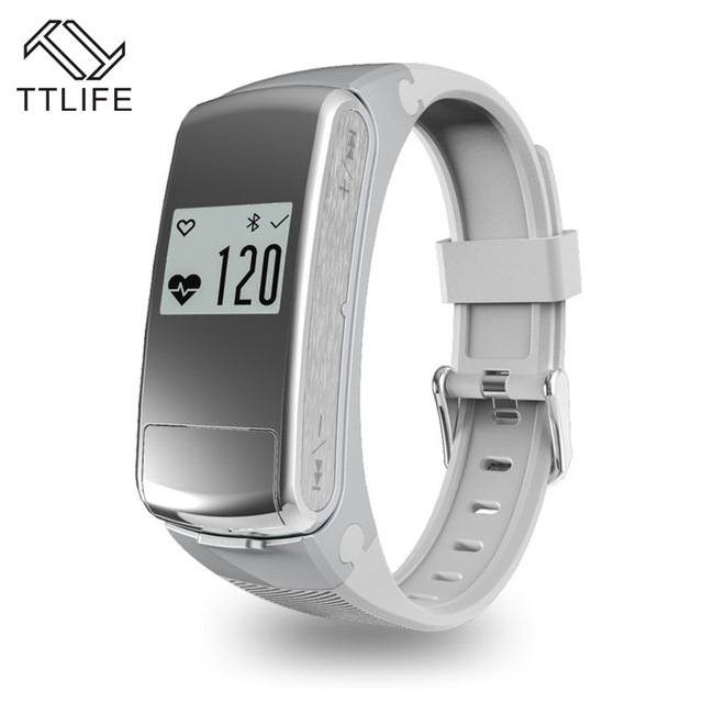 HOT SALE TTLIFE Brand Fashion Bluetooth Music Sport Smart Watch Wristband Bracelet Pedometer Fitness Heart Rate Monitor Nice