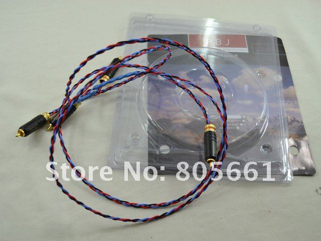 US $84 0 |Hi end audio Kimber Kable PBJ Interconnects RCA Cable with WBT  plug RCA Plugs 1m pair on Aliexpress com | Alibaba Group
