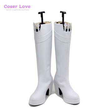 Fate/Grand Order Medb Cosplay Shoes Boots Halloween Christmas Shoes image