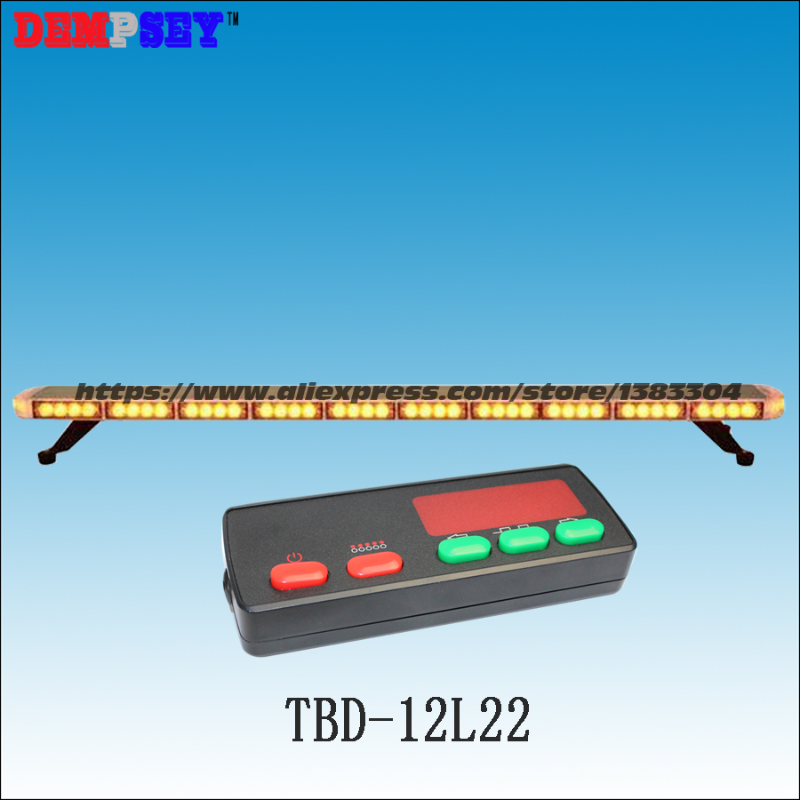 Free shipping!High quality TBD-12L22 LED lightbar,super bright amber emergency construction light,Car Roof strobe warning light ltd 5071 dc12v warning light emergency strobe light warning light