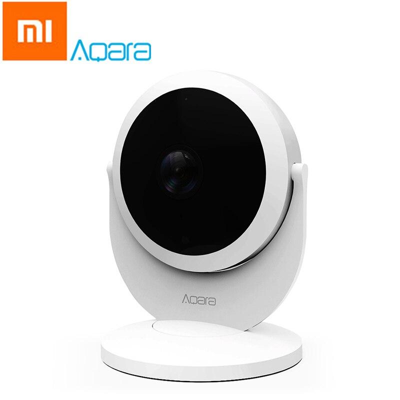Оригинальный Xiaomi aqara 1080 P Full HD IP Камера mijia Умные ПДУ охранных рычажный механизм сигнализации шлюза версии FOV Камера