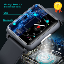 1.3 Inch ECG+PPG Monitor HR Blood Pressure Smartwatch IP67 Smart Watch Men Women