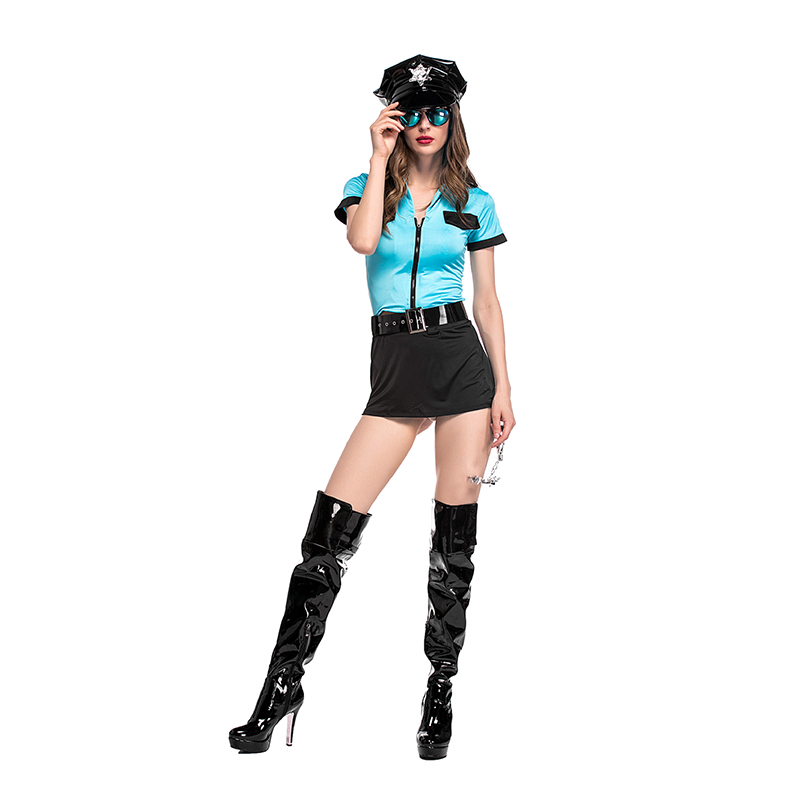 VASHEJIANG New Sexy Women Hottie Police Costume Adult Sexy Cop Outfit Cosplay Costumes Women Halloween Police Fancy Dress -in Movie u0026 TV costumes from ...  sc 1 st  AliExpress.com & VASHEJIANG New Sexy Women Hottie Police Costume Adult Sexy Cop ...
