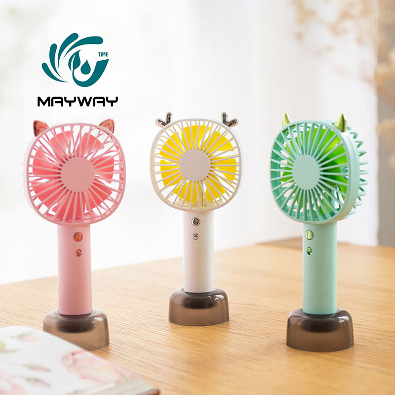 Portable USB Handheld Fan 5 Speed Adjustable Cooler Mini Handy Cooling Fan 3.7V