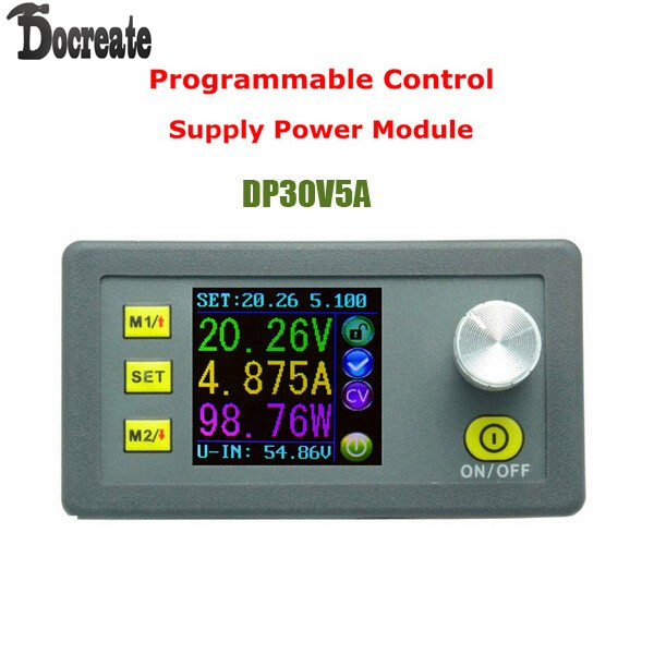 LCD Digital DP30V5A Constant Voltage current Step-down Programmable converter Power Supply Ammeter voltmeter module dps5015 constant voltage current step down programmable digital power supply buck voltage converter color lcd voltmeter 15a
