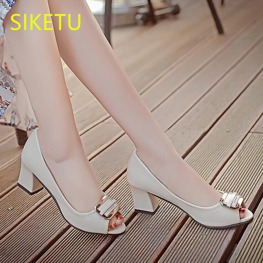 SIKETU 2017 Free shipping Spring and autumn Wild high heels shoes fashion women shoes Wedding shoes Summer sandals pumps g047 siketu 2017 free shipping spring and autumn women shoes high heels shoes wedding shoes nightclub sex rhinestones pumps g148