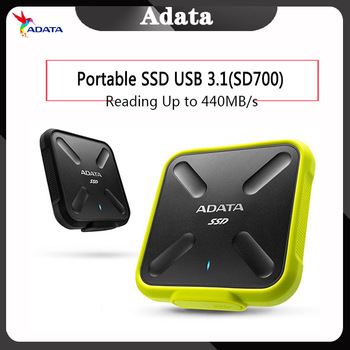 ADATA portable ssd 1 TB 250G 512G External hard drive External Solid State Drive USB 3.1 SD700